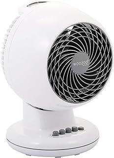 Iris Ohyama, ventilador silencioso, oscilante y potente - Woozoo - PCF-M15, blanco, 32 W, 13 m²