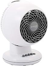Iris Ohyama - Ventilateur puissant et silencieux avec oscillation - Woozoo PCF-M15 Blanc - 13 m², 22 x 20 x 30 cm