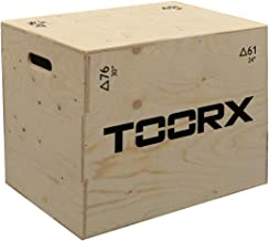 Plyo Box 3 in 1 TOORX platform in hoogte verstelbaar 76 x 61 x 51 cm