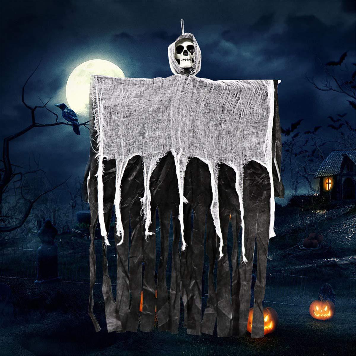 Amazon USDREAM Hanging Grim Reaper Skeleton Flying