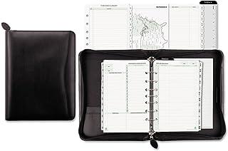 $55 » DTM41745 - DAYTIMERS INC. Day-Timer Bonded Leather Zip Planner Starter Set