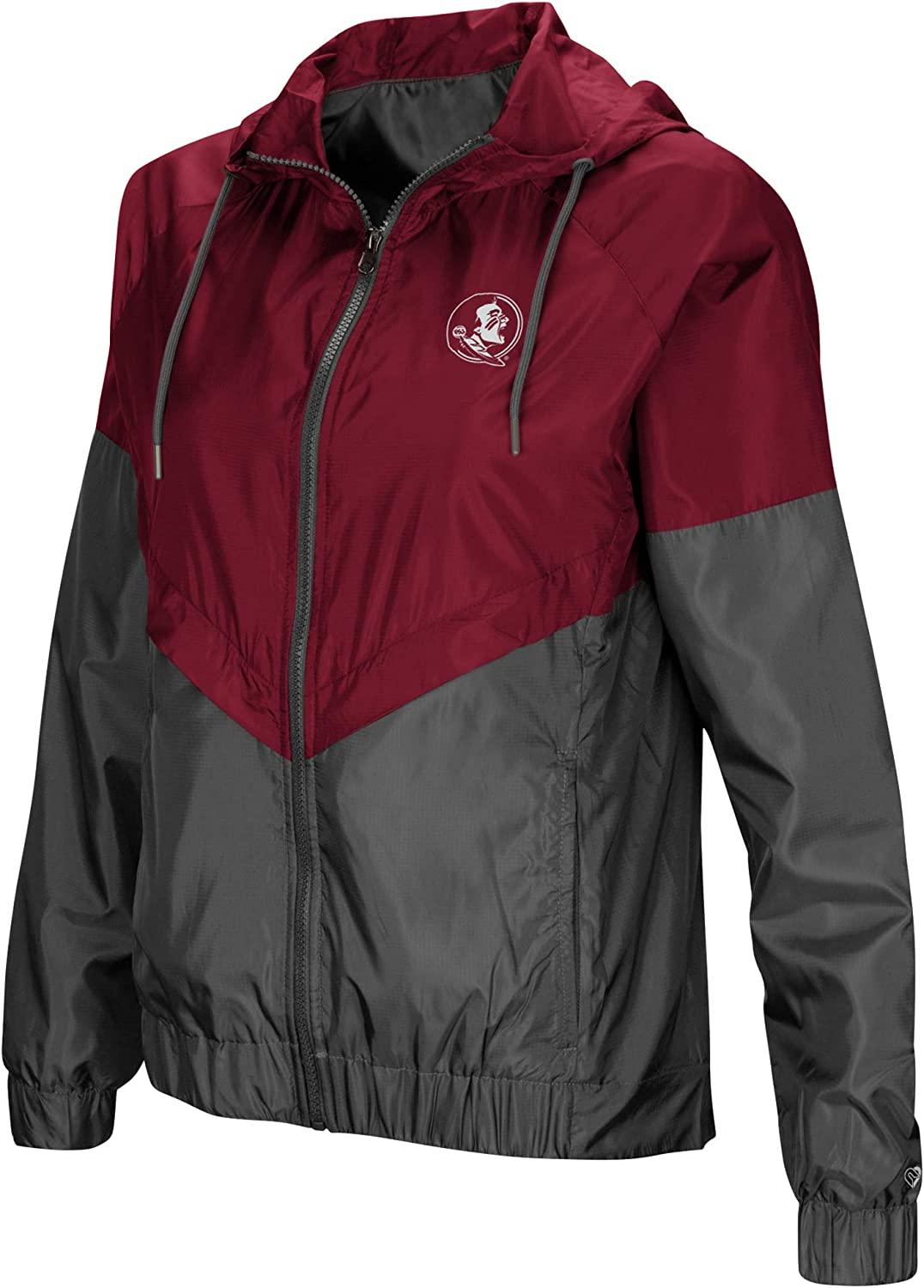 Colosseum NCAA Womens First Class Windbreaker Jacket