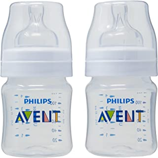 Philips Avent Classic+ Baby Bottles, 125ml, 2-Pack, SCF560/27