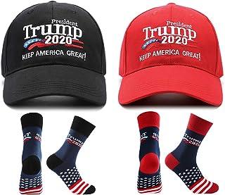 Unisex D/&J East Trump KAG Keep America Great Back Mesh Trucker Hat Heather-White