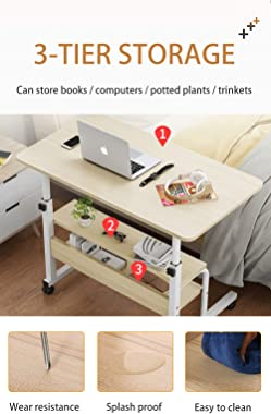 Computer-Desk Office-Desk, Small-Folding Gaming-Laptop Home-Office Desks for Small Spaces, Writing Study Desk Table with Stor
