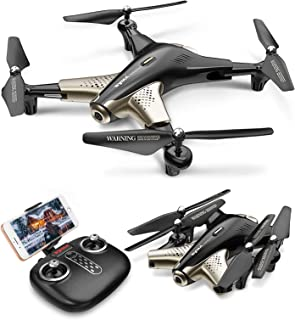 Syma X300 Foldable Drone with Camera for Adults 1080P FHD FPV Live Video, Optical Flow Positioning, Tap Fly, Altitude Hol...