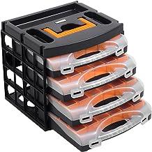 Caja para herramientas con 4bandejas (56100)