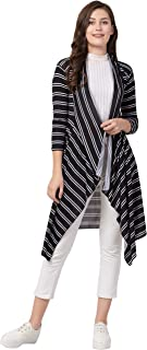 FUNDAY FASHION Hosiery Lycra Long Shrug for Women