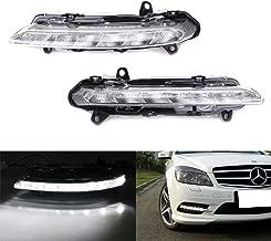 iJDMTOY LED Daytime Running Lights For Mercedes Benz W204 W218 W221 X204 C CLS S GLK Class etc. LH RH OEM Spec DRL Assy