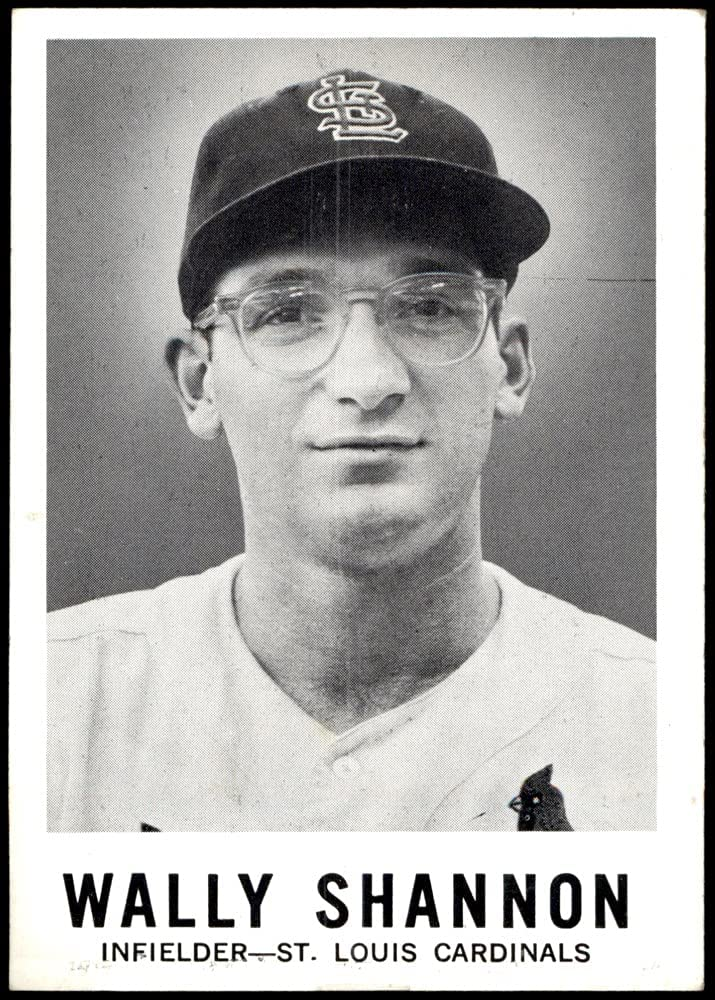 1960 Dedication Leaf # 93 Max 68% OFF Wally Shannon Cardinals Louis Baseball St. Card