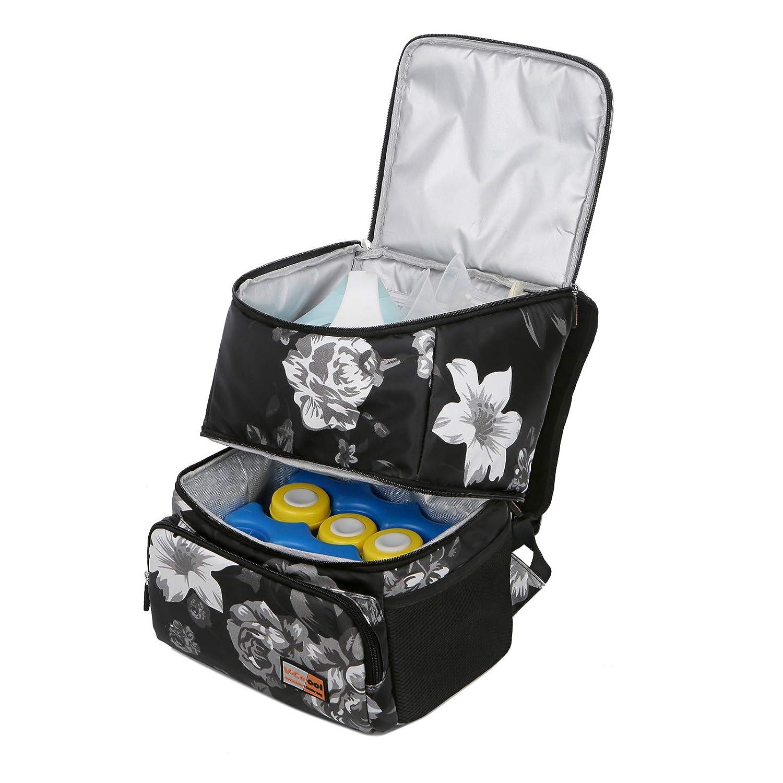 V-COOOL Breast Pump Backpack Diaper Backpack Lunch Bag Ice Bag Bottle Storage Bag Breast Milk Preservation Package