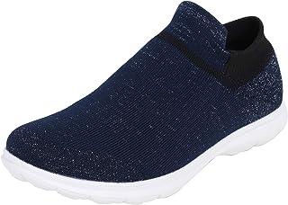 Catwalk Women's Blue Flat Shoes Fashion Sandals