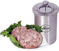 لحم الخنزير ميكر - عصارة لحوم مصنوعة من الفولاذ المقاوم للصدأ لصنع لحم ديلي صحي محلي الصنع مع مقياس الحرارة والوصفات
