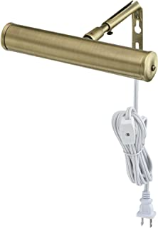 Westinghouse Lighting 7505200 7-Inch Slimline Picture Light, Antique Brass, Single,