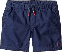 Cotton Chino Pull-On Shorts (Toddler)