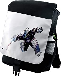 hockey themed backpack