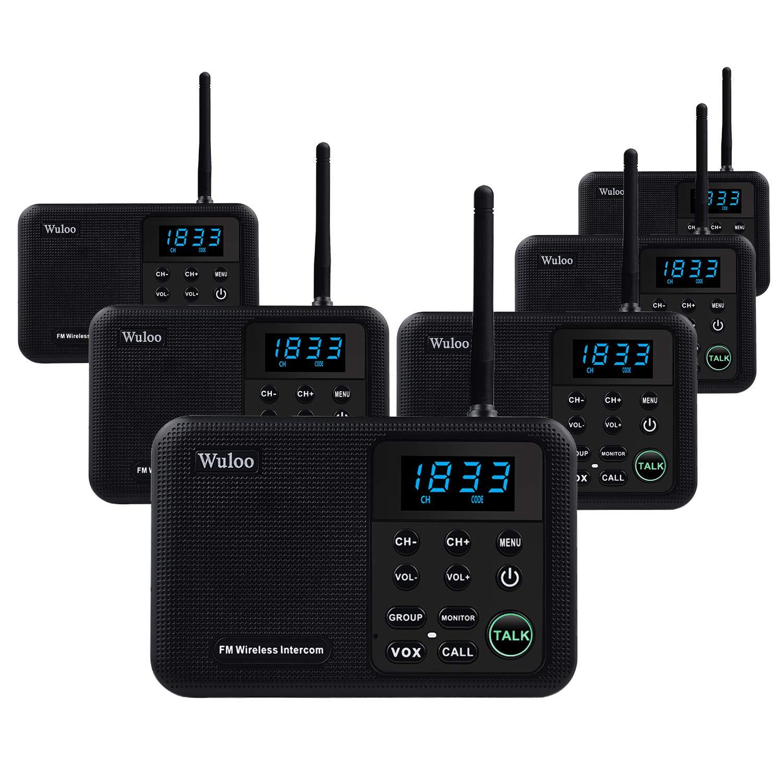 Wuloo Intercoms Wireless Intercom Communication
