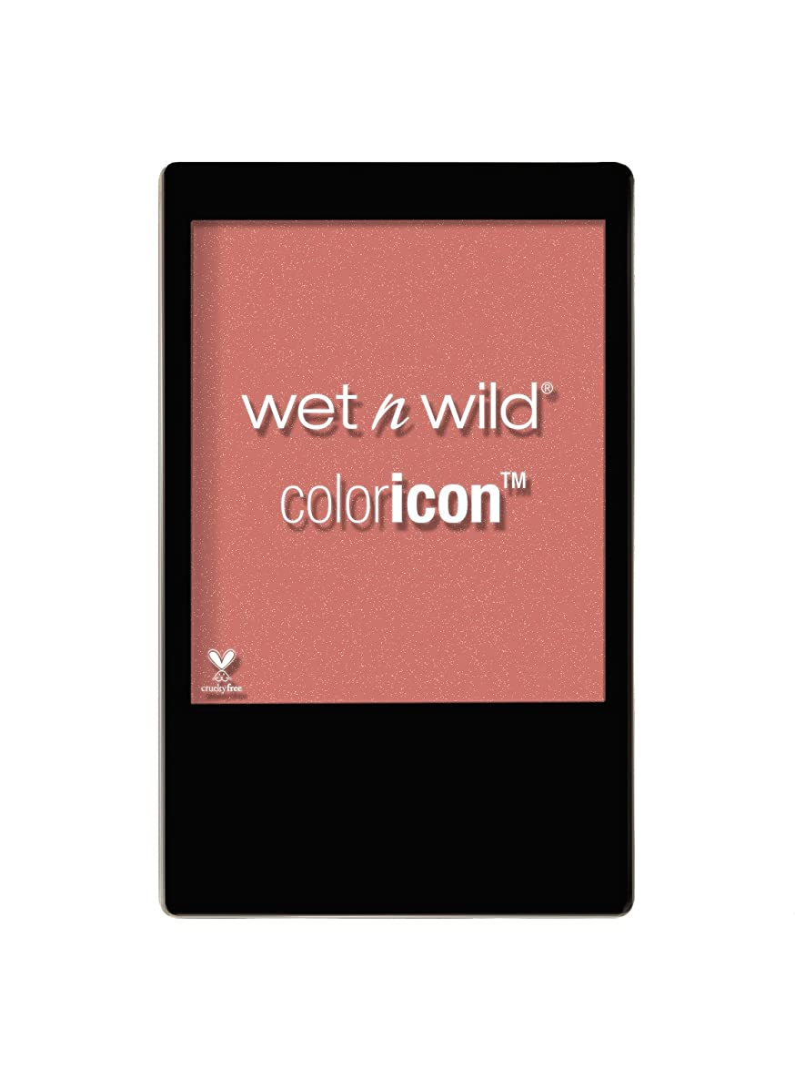 オートメーション代わりの逃れるWET N WILD Color Icon Blush (New) Mellow Wine (並行輸入品)