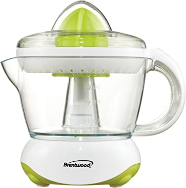 Brentwood J-15 24oz Electric Citrus Juicer, White