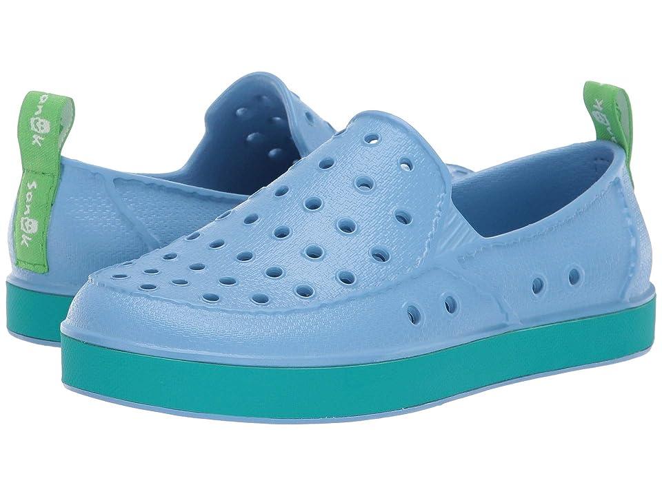 Sanuk Kids Lil Walker (Little Kid/Big Kid) (Alaska Blue) Kids Shoes