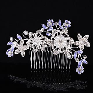 2d95797c54 Amazon.com: Purple - Side Combs / Hair Accessories: Beauty ...