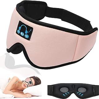 $22 » Sponsored Ad - Sleep Headphones Mask Bluetooth 5.0, Wireless 3D Eye Mask, Anhendeler Sleeping Headphones for Side Sleepers...