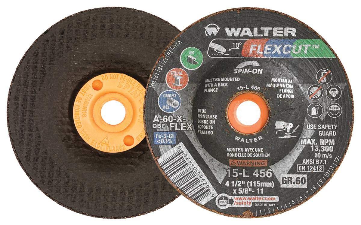 Walter 15L456 FLEXCUT Flexible Grinding Wheel - 25 Philadelphia Mall A-6 Japan's largest assortment of Pack