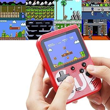 Amazon.es: Lychee Mini Retro Consola de Juegos Portátil con 400 ...