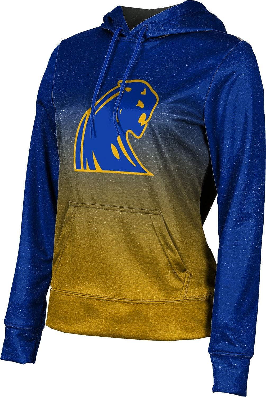ProSphere Dewitt High School Girls' Pullover Hoodie, School Spirit Sweatshirt (Ombre)