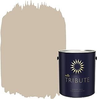 KILZ TRIBUTE Interior Satin Paint and Primer in One, 1 Gallon, Bronze Mist (TB-13)