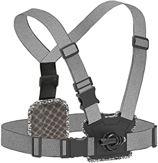 XIANYUNDIAN Chest Strap Front Rear Double Mount Strong Elasticity For GoPro For XiaoYi Osmo Action Original Camera Accesso...