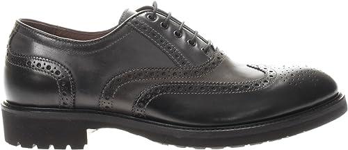 Nero giardini scarpe  stringate uomo in pelle A705272U 100