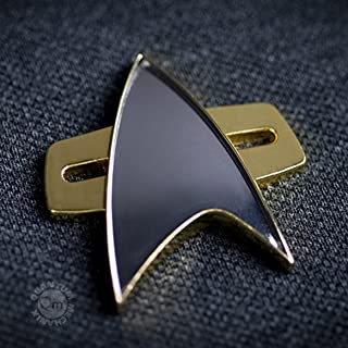 QMx Star Trek: Voyager Communicator Badge
