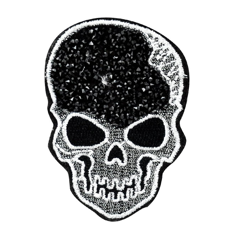 BELAGIO Enterprises BM-5512 Sparkle Applique, Skull