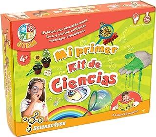 Science4you-Mi Primer Kit de Ciencias-Juguete Cientifico para Niños +4 Años, Multicolor (600270)