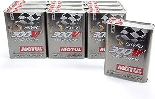 Motul USA 300V Competition 15W50 Motor Oil 2 L 10 pcP/N 104244-10