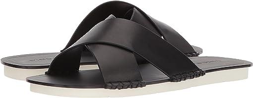 Black Vacchetta Leather
