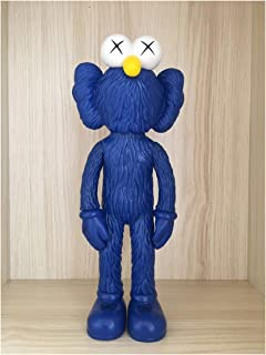 Thailand Bangkok Exhibition 2017 Sesame Street KAWS BFF Dissected Companion Original Fake Art Toys Action Figure Figurine Plush Doll Toy Model Statue Accessories Collection Morden Gift for Boyfriend