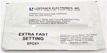Lowrance 000-0106-98 Transducer Mounting Adhesive Epoxy Pack of 6