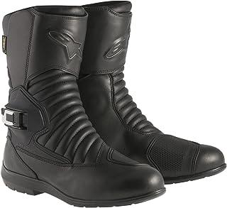 Alpinestars Monofuse Gore-Tex Men's Tech Touring Motorcycle Boots (Black, EU Size 46)