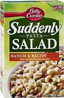 Betty Crocker Suddenly Pasta Salad Ranch & Bacon 7.75 oz (Pack of 12)