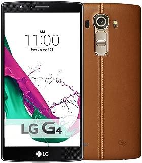 LG G4 H818 Dual Sim - 32GB, 3GB RAM, 4G LTE, WiFi, Brown Leather Back Cover