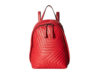 Botkier Moto Backpack (Fire Red) Backpack Bags