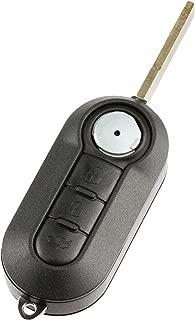 Flip Key fits Fiat 500 500L 2012 2013 2014 2015 Keyless Entry Remote (LTQF12AM433TX)