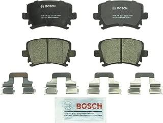 Bosch BC1108 QuietCast Premium Ceramic Disc Brake Pad Set For: Audi A3, A4, A6, Quattro, S3, TT; Volkswagen Eos, Golf, GTI, Jetta, Passat, R32, Rabbit, Tiguan, Rear