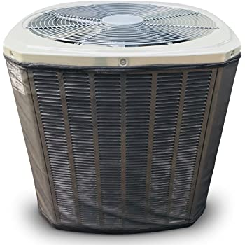 MESH Air Conditioner Cover: Custom AC Cover Designed to Protect coils from Clogging - Leaves, Grass, Cottonwood, dust and Debris