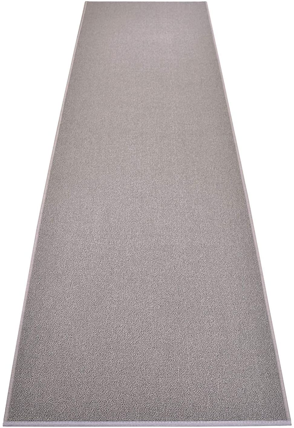 High order Custom Size Solid Color Grey Roll Runner 22 Your Rug Inch x Max 53% OFF Wide