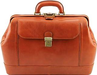 Tuscany Leather Leonardo Exclusive Leather Doctor Bag Honey 4ee7a34a7c0e6
