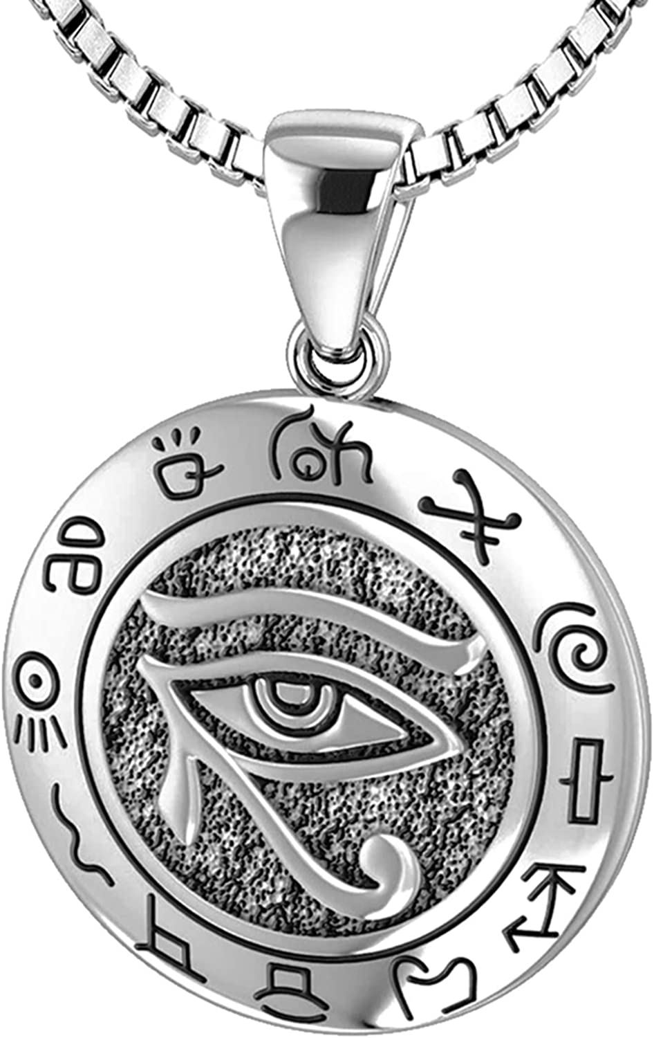 US supreme Jewels Ladies 925 Sterling Silver Horus with Po Zodiac Eye wholesale of