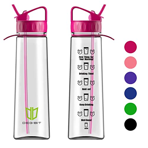 Water Bottle Uses: Water Bottle With Time Markings: Amazon.co.uk